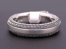 Platinum Scott Kay Mens 6mm Wedding Band Ring Size 10 1/2 Style G1015