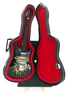Miniature Fender Stratocaster Guitar - Bob Dylan - (Includes Hard Case)