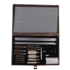 28pcs Universal Cleaning Kit Gun Rifle Shotgun Cleaner Brush Handle Rods NEW