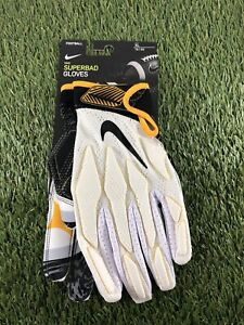 New Nike Superbad Football Gloves Pittsburgh Steelers LB26 Le'Veon Bell SZ XL