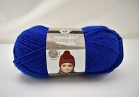 Loops & Threads Impeccable Medium Weight Acrylic Yarn - 1 Skein Color Royal