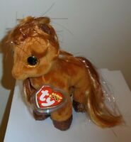 "Ty Beanie Boos - GLITTER the Horse Pony 6"" (2019 Cracker Barrel Exclusive) NEW"