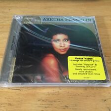 The Best Of Aretha Franklin Platinum & Gold Collection CD Sealed Greatest Hits !