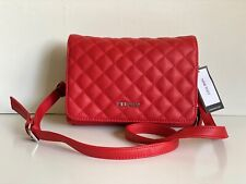 NEW! NINE WEST HOLD THE KEY FRY RED CROSSBODY MESSENGER SLING BAG PURSE $59 SALE