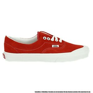 VN0A4BTPVYG1 VANS Era TC Suede (Racing Red / White) Men Sneakers Size 10.5