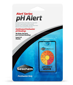 Seachem pH Alert Continuously Monitors pH in Freshwater Sensor Technology Tank
