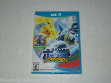 Pokkén Tournament w/Shadow Mewtwo Amiibo Card Wii U First Print Unopened Sealed