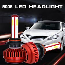 Car LED Headlight Kit 9006 HB4 80W 6000K HID White 16000LM Bulbs Sigle Beam Lamp