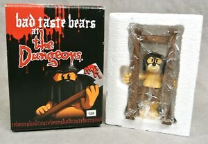 BAD TASTE BEAR FIGURE FOR JULY 2005 - JOHNSON - NO 128 - BOXED DUNGEON SERIES.