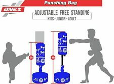 Boxing Free Standing Fighting Bag Kick Stand MMA Martial Arts Punching Gloves