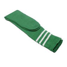 Hombre Mujer Ajustado de Rayas Fútbol Deporte Largo hasta la Rodilla Calcetines