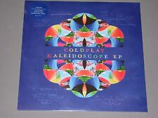 COLDPLAY Kaleidoscope 180g EP Ltd Ed Light Blue Vinyl w/Poster   New Sealed LP