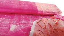 Kokka Baumwoll Satin Nani Iro Ripple rosa pink 0,5m