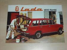 31210) Lada 1200 Kombi Prospekt 197?
