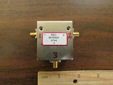 REC SMA Microwave Circulator 3A3NAA NOS