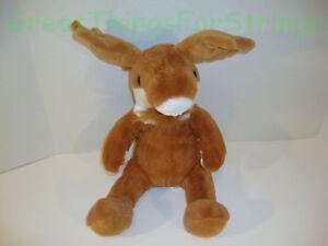 "Reindeer Deer  Stuffed Animal Large New 11"" New Plush"