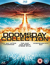 The Doomsday Collection 3 individual films own covers SEALED slipcase cover set