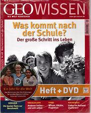 GEO Wissen Nr. 49 / Die Welt verstehen / Was kommt nach der Schule / Heft + DVD