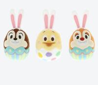 Disney Tokyo Chip & Dale & Usatama Easter 2020 Egg Rabbit Plush Magnet Set