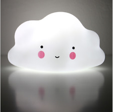 Sleeping LED Night Light Table Lamp Cloud Baby Kids Room Decor Birthday Gift