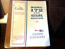 1975 Cessna 172 and F172 Parts Manual