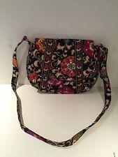 Vera Bradley Suzani Saddle Up Shoulder Bag Crossbody EUC