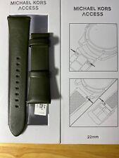 22mm Surtido de acceso Michael Kors Bradshaw Smartwatch correa bandas Nuevo en Caja!
