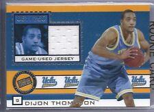 2005 Press Pass Basketball DiJon Thompson UCLA College Jersey Card #061/250