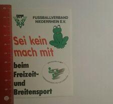 Aufkleber/Sticker: Fussballverband Niederrhein sei kein Frosch mach (27101633)