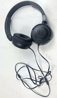 JBL T450 Black Wired Stereo Headphones - Over-ear Pure Bass Sound
