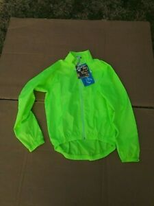 NEW Canari Cycling Jacket Men's  SMALL Microlight Full Zip Wind blocking Design