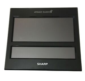 Sharp Atomic Digital Alarm Clock Jumbo Display Open Box