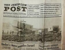 THE JERUSALEM POST - International Edition - israelische Zeitung von 1980
