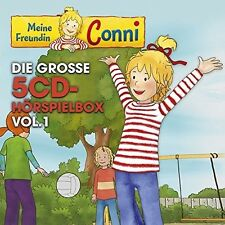 MEINE FREUNDIN CONNI (TV-HÖRSPIEL) HÖRSPIELBOX VOL.1  5 CD NEU