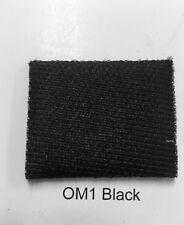 Black Flat Knit Auto Headliner Material Foam Backing Fabric Sold Yard X 60