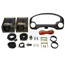 GlowShift B7 Boost/Vac & Oil PSI Gauges + Cluster Pod for 96-00 Honda Civic