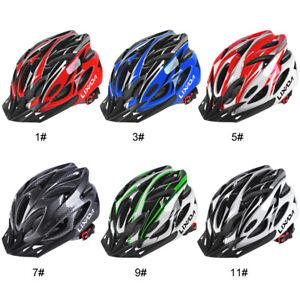 Herren Damen Fahrradhelm MTB Helm Schutzhelm Leichter Radhelm Verstellbar T9S1