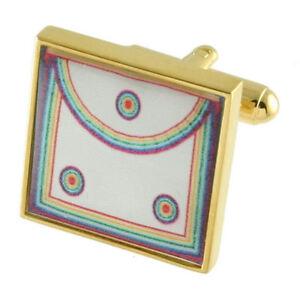Cuff Links Masonic~Mason~Ark Mariner Cufflinks Select Gift Pouch
