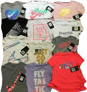 NWT NIKE TEE/DRI-FIT Assorted Tanks or T-shirts, Little Girls; Sizes 4, 5, 6, 6X