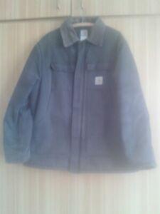 Vintage Carhartt USA C03 Black Duck Quilt Lined Arctic Coat size M/L