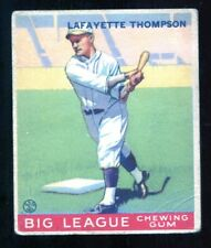 1933 Goudey Set Break Lafayette Thompson #13 ~ GD condition ~ low number