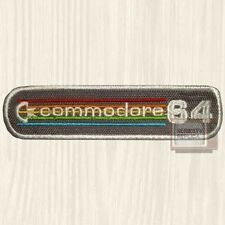 Commodore 64 Console Embroidered Patch Vintage Computer Logo Amiga Retro