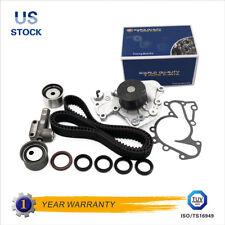 Timing Belt Water Pump Tensioner Gaskets Kit Fit Hyundai Kia 2.5L 2.7L V6 G6BA