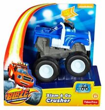 BLAZE AND THE MONSTER MACHINES (CRUSHER - SLAM & GO - BRAND NEW + FREE POST)