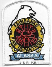 "Fairbanks Fire Dept., Alaska  ""Polar Bear""  (3"" x 4"" size)  fire patch"