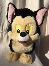 Disney Park Figaro Bean Bag Plush Pinocchio Black Cat TOTE A TAIL Plush kitten