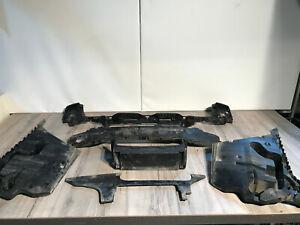 BMW 5er F11 M Paket Stoßstange Halterungen hinten Verkleidung Träger  SET AHK