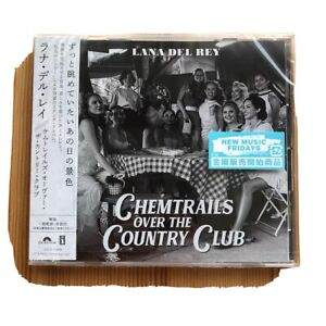 LANA DEL REY - Chemtrails Over The Country Club Japan W/obi
