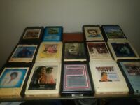 Lot of 14, 8 Track Tapes UNTESTED (As Is!)