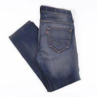 Vintage LEVI'S 504 Straight Fit Men's Blue Jeans W32 L28